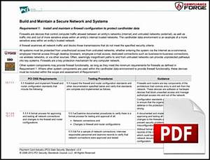 iso 27002 based written information security program wisp With pci dss policy template