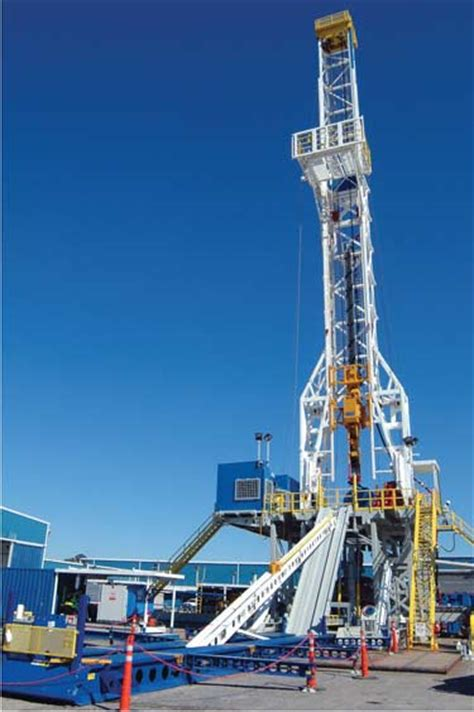 'High-Spec' Land Rigs, Drilling Equipment Advances Proving ...
