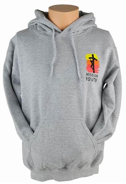 Sweatshirt Hooded Mission Youth