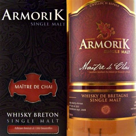 maitre de chais armorik maitre de chai breton single malt whisky