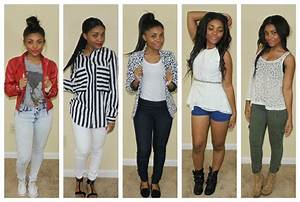 LOOKBOOK | BACK TO SCHOOL OUTFITS 2013 - YouTube