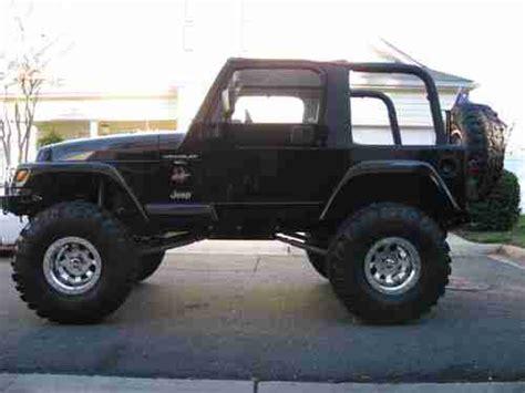 jeep sahara black 2 door purchase used 2000 jeep wrangler sahara 4 0l 4wd black 2