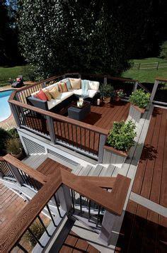 images  deck design ideas  pinterest deck