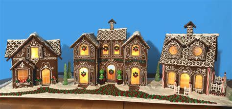 gingerbread house village  goodies  anna