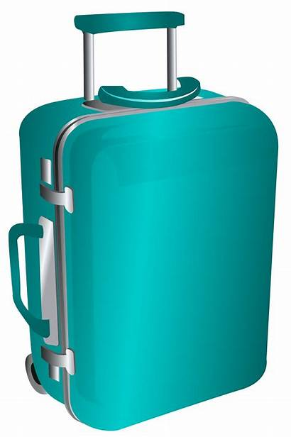 Clipart Travel Bag Trolley Suitcase Luggage Clip