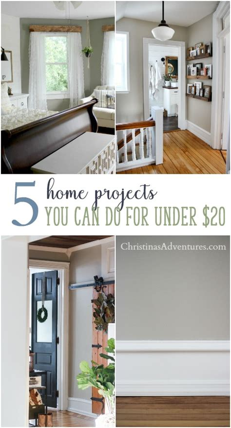 5 Easy Home Improvement Projects On A Small Budget (under