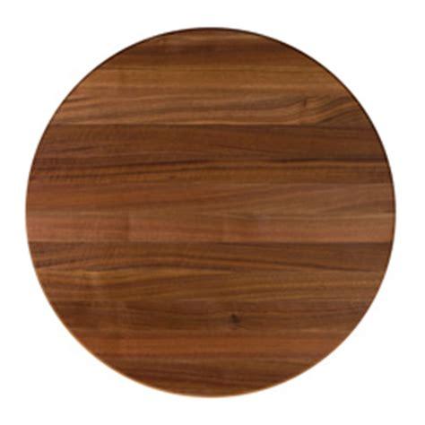 round butcher block table top john boos round walnut edge butcher block table tops