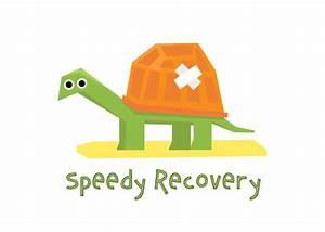speedy recovery get well soon card free greetings island