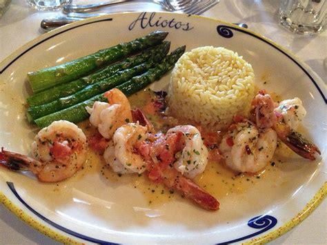 cuisine of california alioto s saut 233 ed prawns food shrimp sanfrancisco