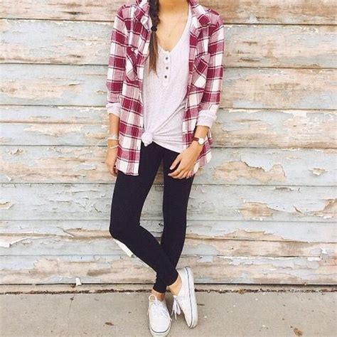 How to wear flannel shirts u2013 Just Trendy Girls