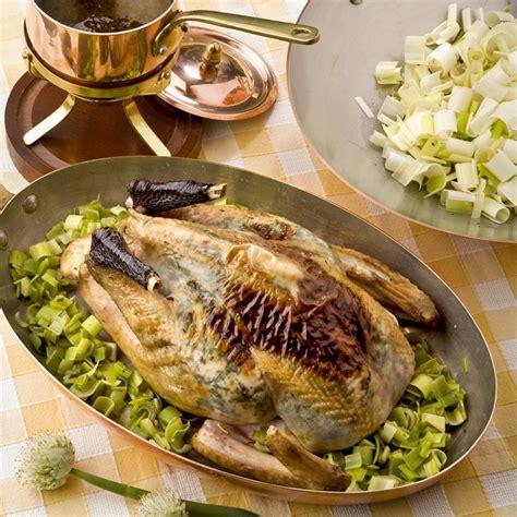 cuisine chapon roti recette chapon poché rôti