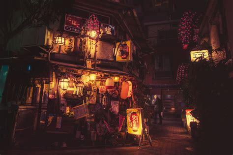 magic  tokyo streets  night    masashi
