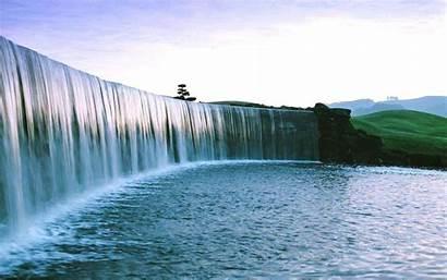 Waterfall Fullscreen Wiki Backgrounds