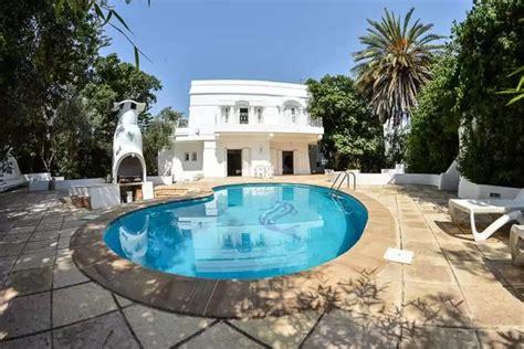 meuble cuisine four et micro onde location villa hammamet avec piscine privée en tunisie