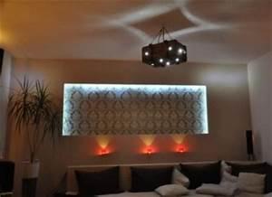 Wand Mit Indirekter Beleuchtung : creative lichtideen projekte bilder ~ Sanjose-hotels-ca.com Haus und Dekorationen