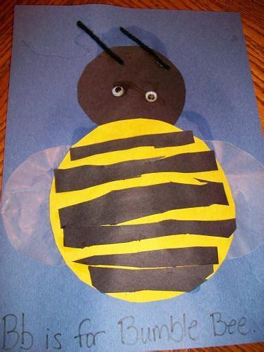 preschool crafts  kids bumblebee craft  kids
