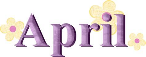 Image result for april word clip art