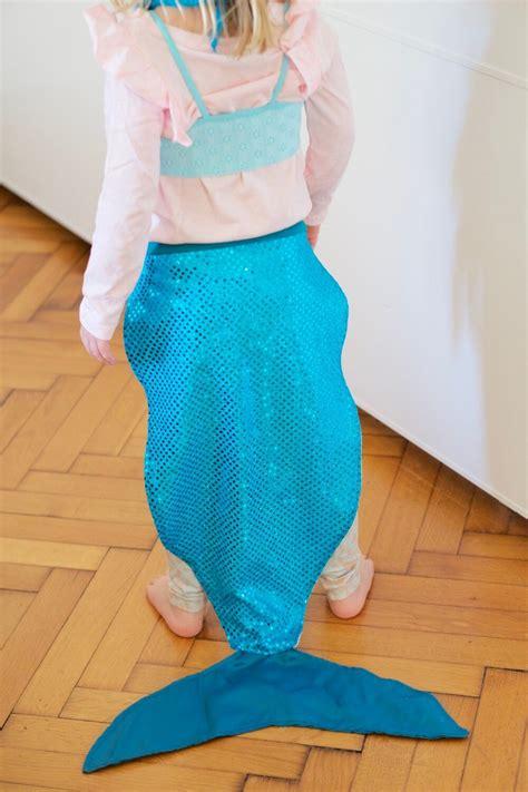meerjungfrau kostüm selber machen die sch 246 nsten kinderkost 252 me einfach selber n 228 hen ideen anleitungen die kleine botin