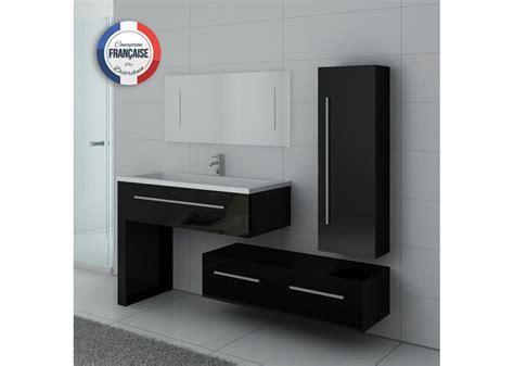 meuble de salle de bain noir simple vasque meuble noir pour salle de bain dis9251n