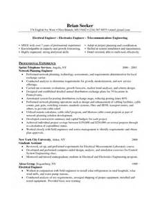 resume format electrical engineer 28 images electrical