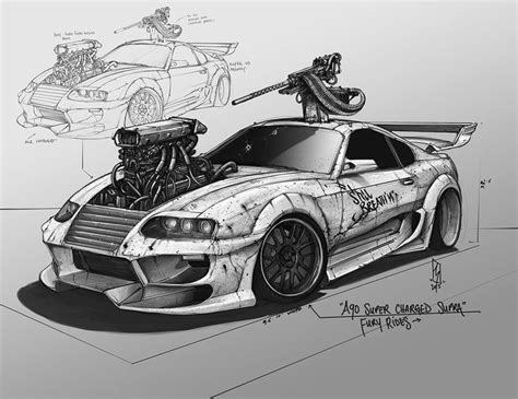 202 Best Cars To Draw Images On Pinterest