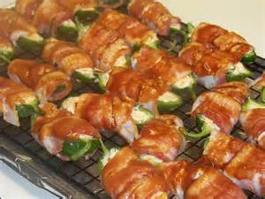 Baked Bacon Wrapped Jalapeno Poppers