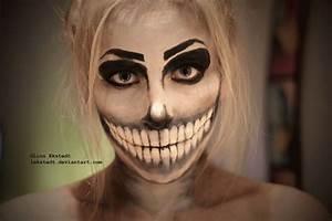 Skeleton Makeup by Lekstedt on DeviantArt