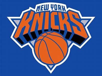Knicks York Nba Logos Clipart Basketball Ny