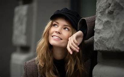 Anastasia Face Woman Scheglova Shcheglova Shoot Hair