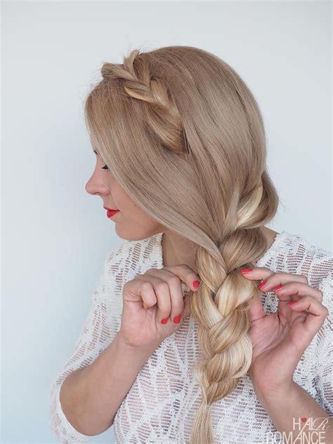 Summer dreaming side braid hairstyle tutorial Side braid