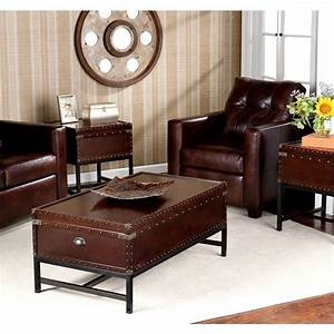 Southern enterprise yorkshire 3 piece trunk table for In home furniture enterprise