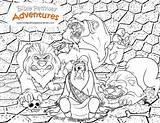 Den Lions Coloring Daniel Pages Lion Bible Story Activities Biblepathwayadventures Lesson Children Crafts Adventure Christian Stories Thrown Colouring Corner Pathway sketch template