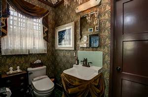 Our Haunted Mansion Bathroom Is on Apartment Therapy ...