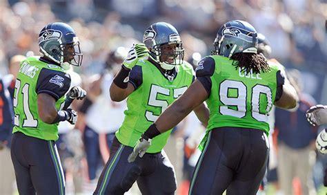 seahawks  wear action green   twist  monday