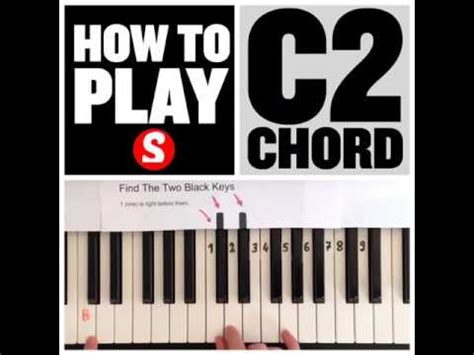 F2 No3 Chord Piano Lesson