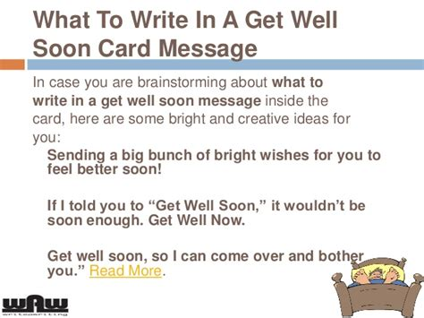 Add a digital gift card. What to write in a Get Well Soon Card