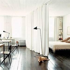 Raumteiler Wohnzimmer Schlafzimmer : die besten 17 ideen zu raumteiler vorhang auf pinterest ~ Michelbontemps.com Haus und Dekorationen