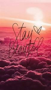 Stay Beautiful iPhone 5 Wallpaper (640x1136)