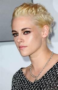 Kristen Stewart blonde and mesh Lainey Gossip Lifestyle