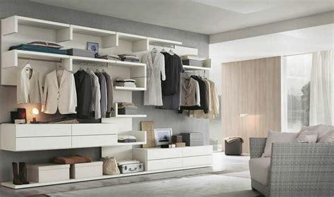 dressing ouvert chambre idée dressing rangement éclairage décoration
