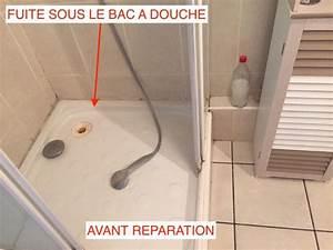 Etancheite Bac A Douche : fuite sous bac de douche interventions ~ Premium-room.com Idées de Décoration