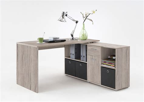 bureau d angle r 233 versible contemporain coloris ch 234 ne