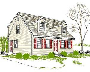 small cape cod house plans cape cod house plan a light in the attic