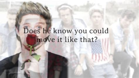 One Direction - Does He Know (Lyrics + Pictures) *HD ...