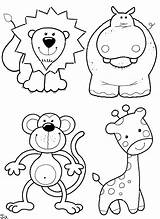 Coloring Zoo Put Animals Pages Cute Popular sketch template