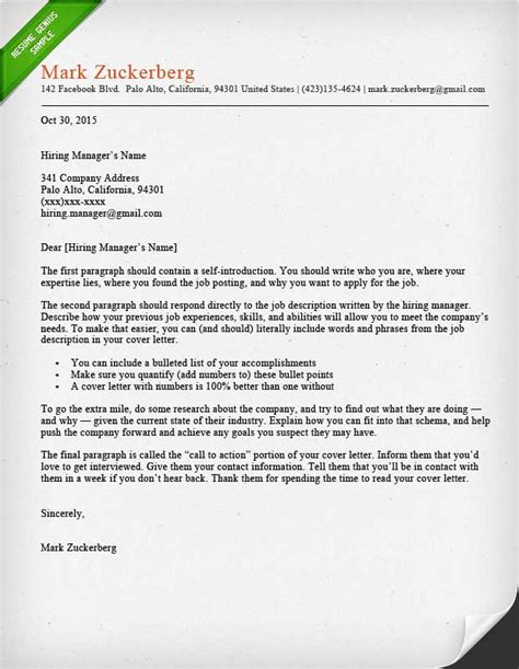 Write My Resume And Cover Letter by Cover Letter Sles And Writing Guide Resume Genius