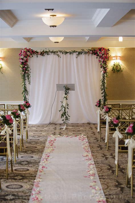 simple wedding ceremony simple wedding surrounding flowers blogsurrounding flowers