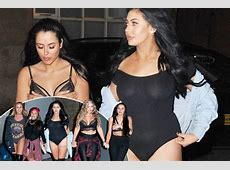 Geordie Shore girls flash the flesh again during another