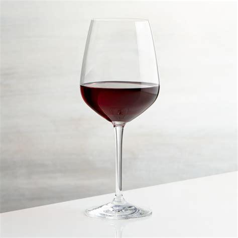 nattie red wine glass reviews crate  barrel