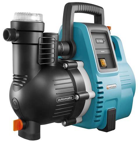 hauswasserwerk mit vorfilter gardena comfort hauswasserautomat 4000 5e